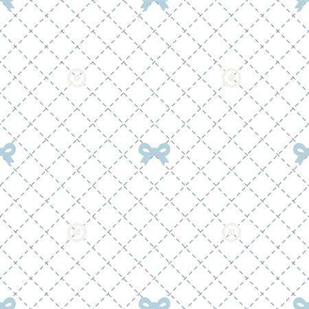 seamless blue ribbon pattern background