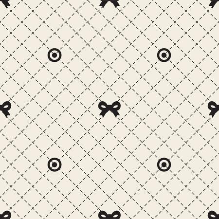 seamless ribbon pattern