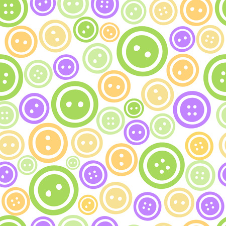 seamless color buttons pattern background