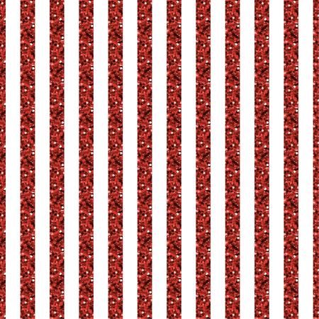 Rayure rouge pailletée et motif blanc Banque d'images - 87948813
