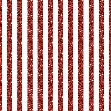 Red stripe glitter and white pattern