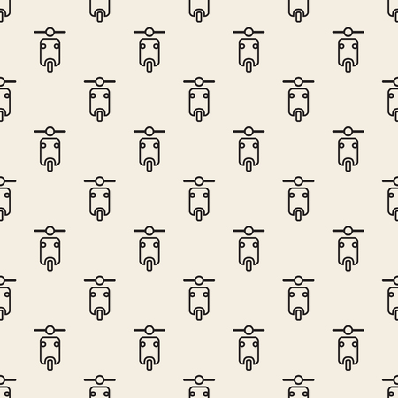 seamless monochrome motorcycle pattern background 向量圖像
