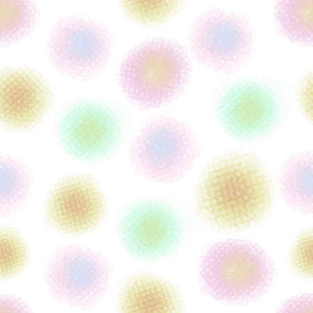 seamless abstract colorful dot pattern background