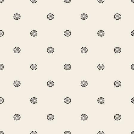 seamless monochrome cross with dot shape pattern background