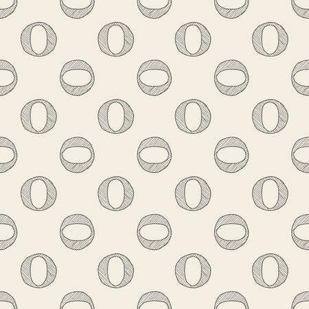 seamless monochrome dot shape pattern background Stock Illustratie