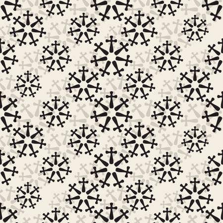 seamless monoshrome floral pattern background like a firework