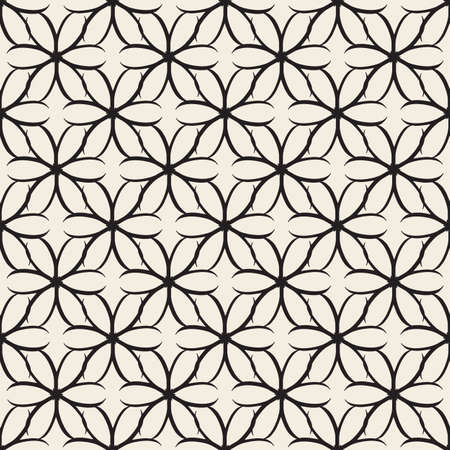 seamless monochrome abstract flower and root pattern background
