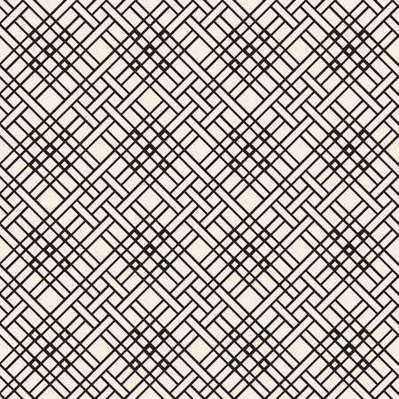 seamless monochrome square basketry pattern background