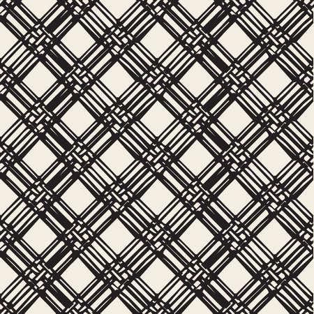 seamless monochrome weave pattern background