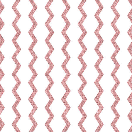 seamless glitter pattern background with champagne zig zag line for wallpaper and greeting card