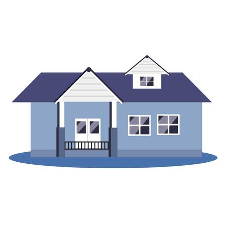 investor: beautiful house vector with white background