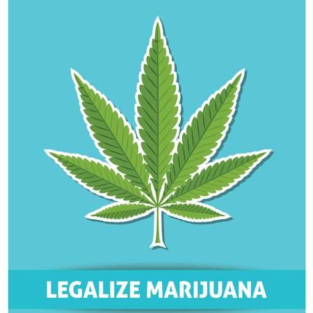 legalize: Legalize marijuana with text vector