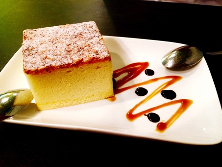 indulgence: Slice of Cheese Cake