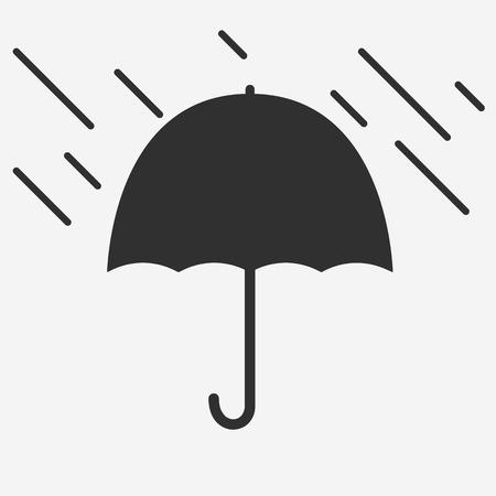 resistant: Umbrella icon - Vector