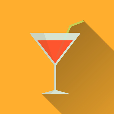 Cocktail Icon - Vector
