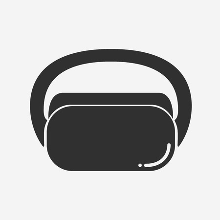 Virtual reality icon - Vector Illustration
