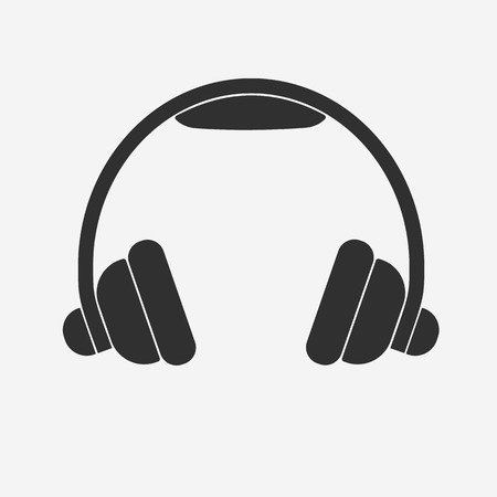 earphone: Headphone icon - Vector Illustration