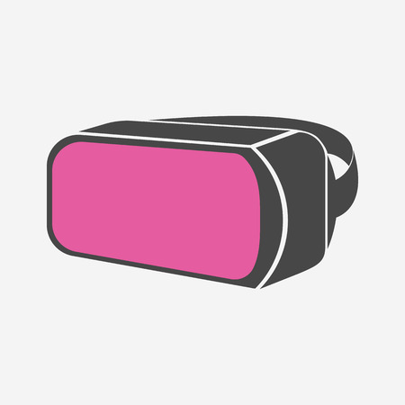 reality: Virtual reality icon - Vector Illustration