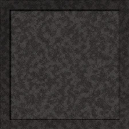 Realistic dark stone texture blank billboard notice-board