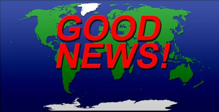 good news World Map Illustration green blue white color cut out effect effects