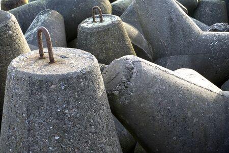 breakwaters breakwater mole pier concrete