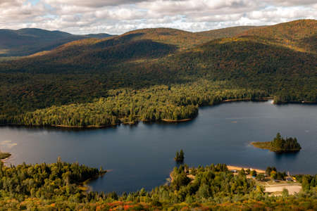 La Pimbina valley in Mont Tremblant National Park
