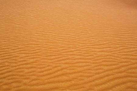 desert sand: Wavy desert sand Stock Photo