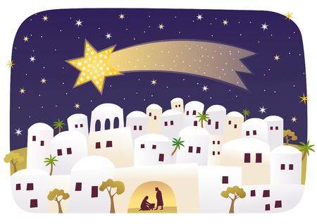 Geburt von Jesus Standard-Bild - 20261161