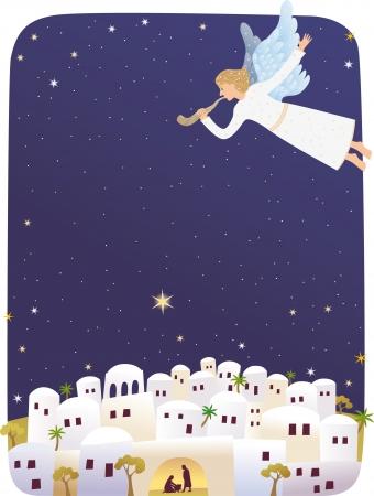 Geburt von Jesus Standard-Bild - 21471892