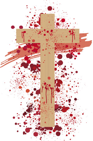 crucifixion: Cross Illustration