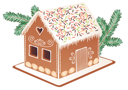 gingerbread house: Gingerbread house