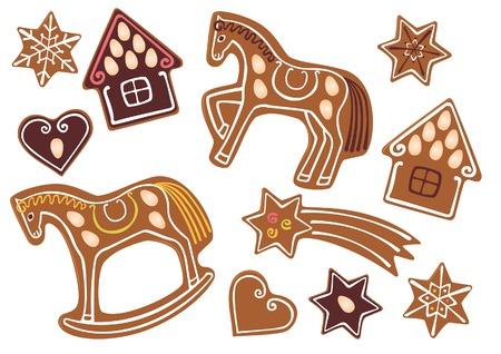 gingerbread heart: Gingerbread