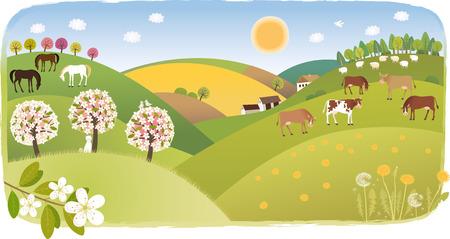 udder: Spring highland
