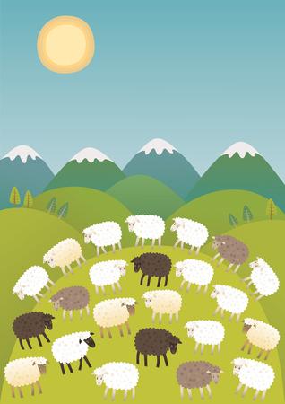 lambkin: Diversity Illustration