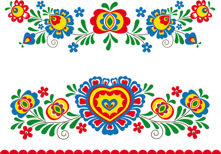 Folk ornaments