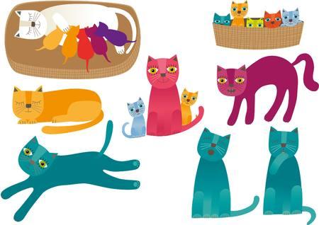 猫  イラスト・ベクター素材