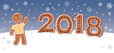 2018 Gingerbread man