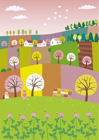 spring Ilustração