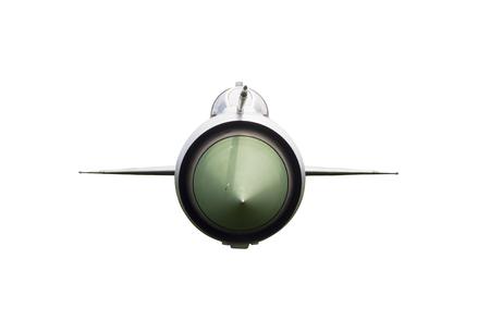 avion chasse: Voir Fron de Avion de chasse isol� sur fond blanc