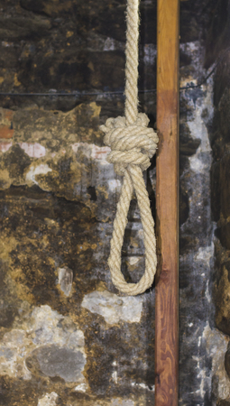 Gallows in Medieval Torture Chamber