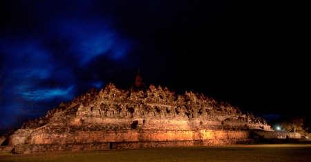 Borobudur Before Sunrise