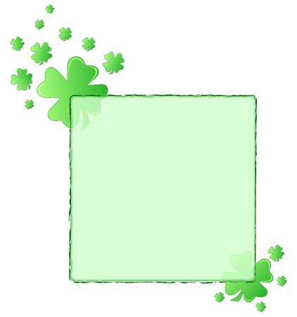 druid: Frame for Saint Patricks day celebration Stock Photo