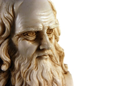 uitvinder: Leonardo da Vinci, een van de grootste geest in de mensheid Stockfoto