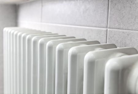 Bathroom heater perspective view