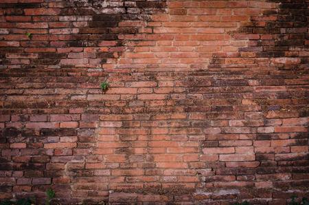 bulwark: Old brick wall textured background