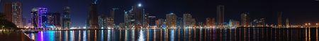 sharjah: Night Panorama of Sharjah