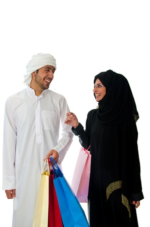 arab people: Arab couple