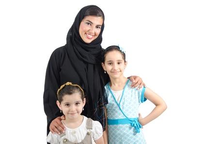 gulf: Arab Family