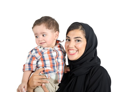 Arab Mother photo