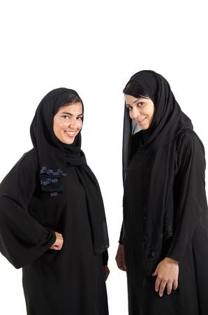 Arab Females Stock Photo